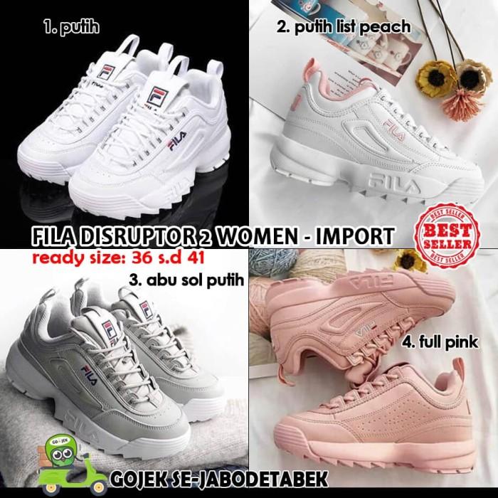 fila disruptor 2 kw super women. sepatu sneakers wanita. sepatu fila