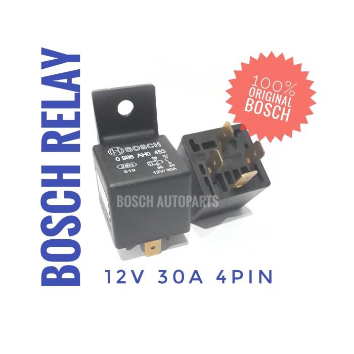 Jual Relay 4 Pin 12V 30A - BOSCH 453 (Taiwan) - Jakarta Barat - BOSCH  Autoparts | Tokopedia