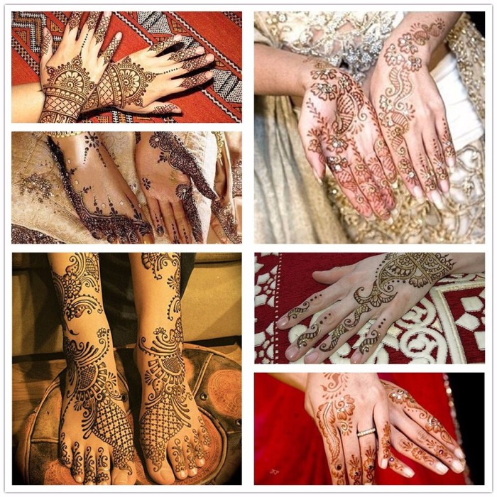 Jual Termurah Body Paint Indian Henna Tato Cream Black Toko Unik