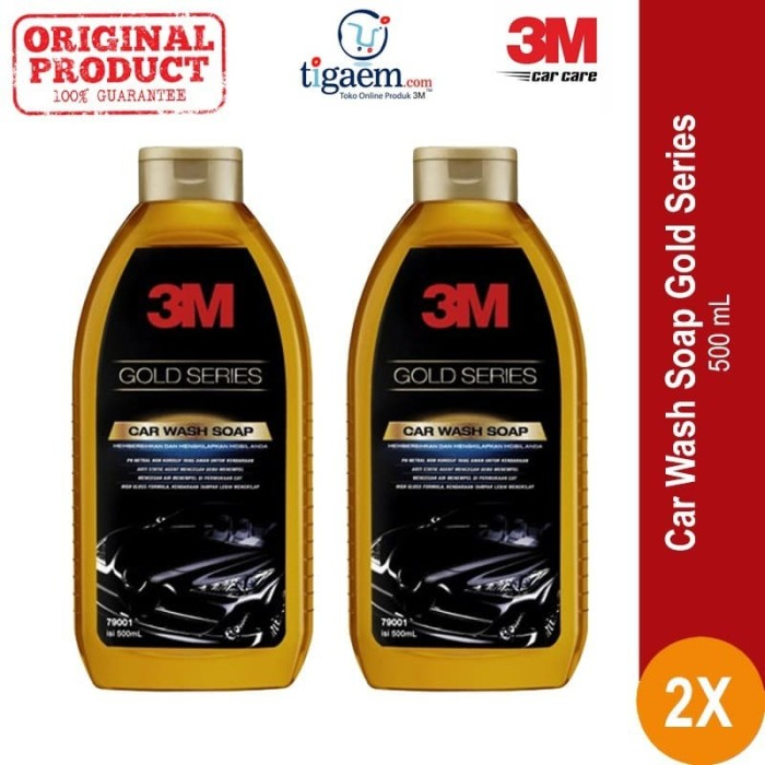 What Kind Of Soap To Wash A Car >> Jual 3m Paket Sampo Mobil 2 Each Car Wash Soap Gold Series Multi Buy Kab Bekasi 3m Os Tokopedia