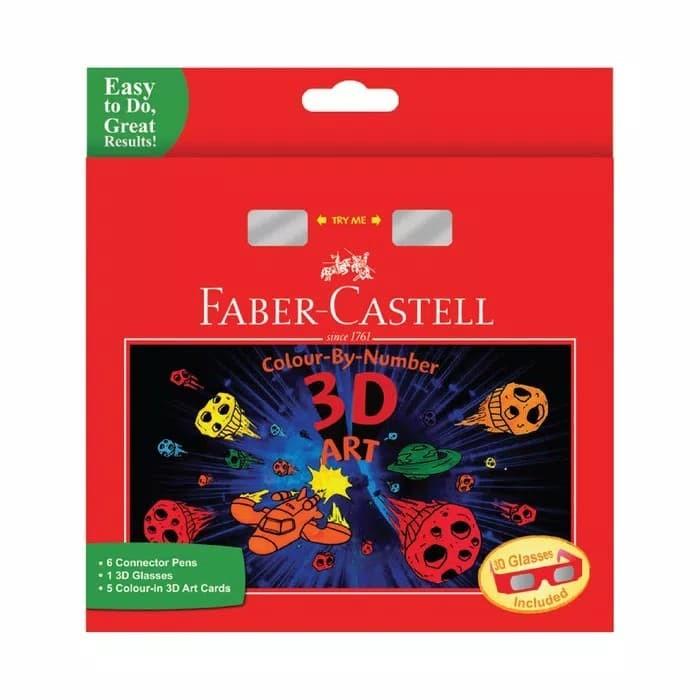Jual Faber Castell Color By Number 3d Art Menggambar Dan Mewarnai 3d ... 709cd3902d