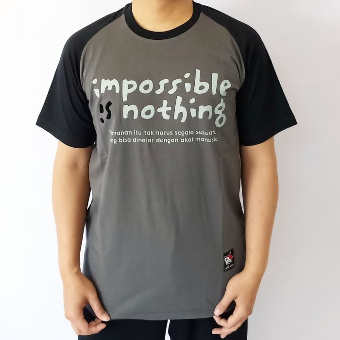 KAOS DAKWAH ISLAMI IMPOSSIBLE IS NOTHING - KODE: A-35 Limited stock