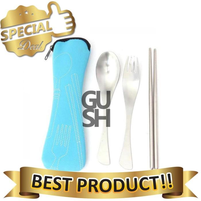 harga Set perlengkapan makan sendok garpu & sumpit Tokopedia.com