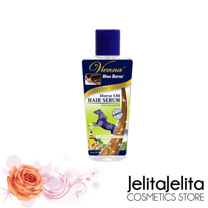 Vienna Blue Horse Hair Serum Herbal Growth - 65ml