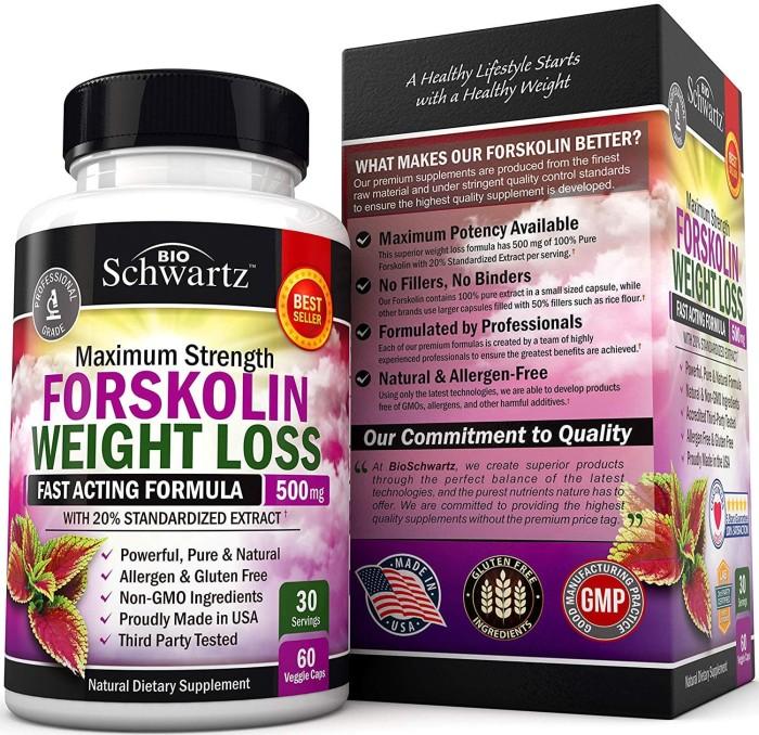 Foto Produk BioSchwartz Forskolin Extract For Weight Loss dari Voucher voucher
