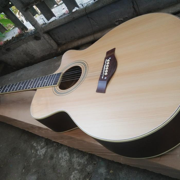 harga Gitar akustik taylor natural elektrik eq-7545r jumbo Tokopedia.com