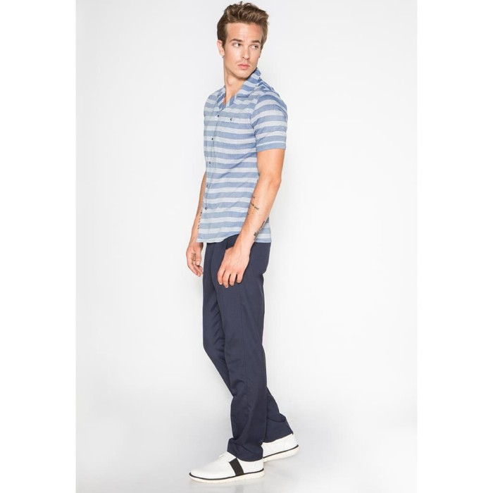 Short Sleeve Shirt Blue 02 Murah berkualitas