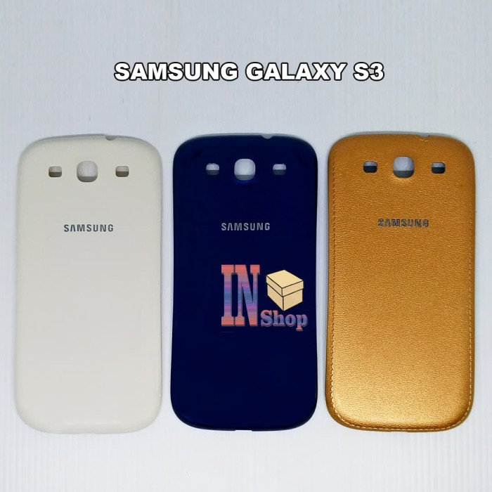 Backdoor Samsung S3 / i9300 / Casing / Tutup Belakang / Cover - Navy