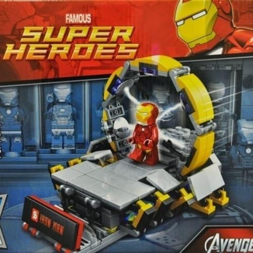 harga Ironman lab gantry tony stark avengers super heroes lego Tokopedia.com