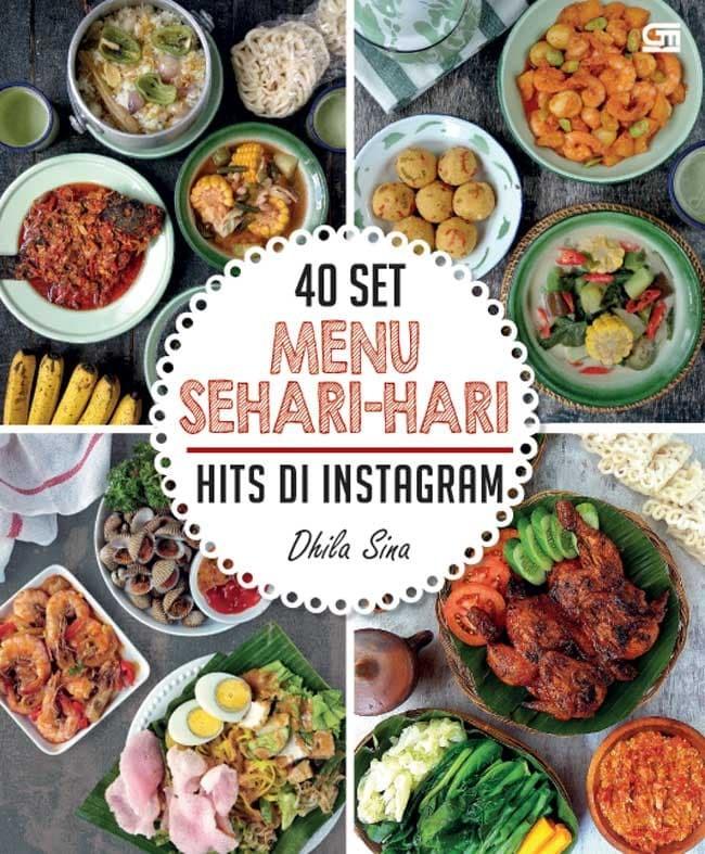 harga 40 set menu sehari-hari hits di instagram ala dhila sina Tokopedia.com
