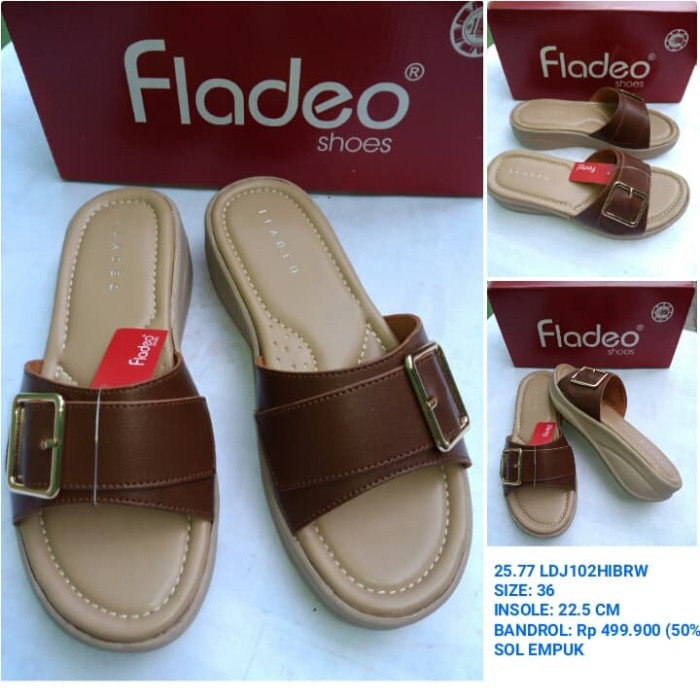 Sandal fladeo   sandal teplek wanita fladeo ec425db2de