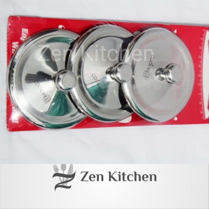 harga Tutup gelas cookville 8cm stainless Tokopedia.com