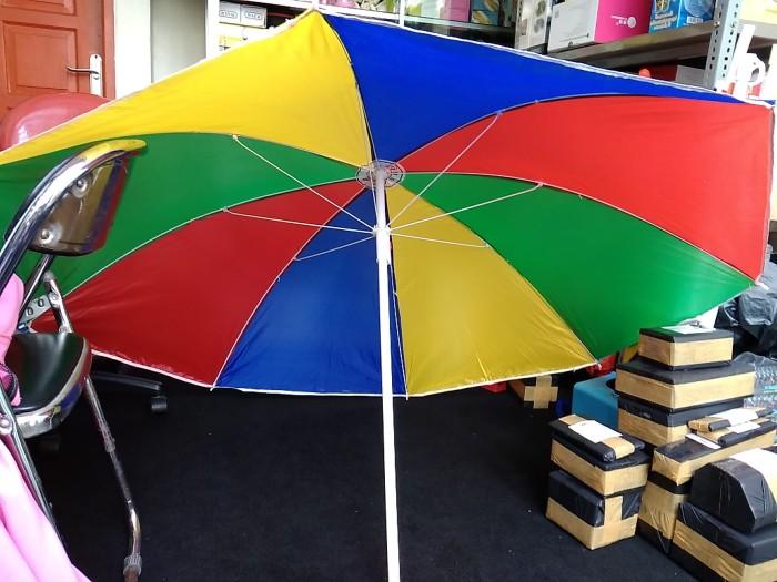 Payung tenda cafe pantai pelangi jualan dagang pkl size 180cm grosir