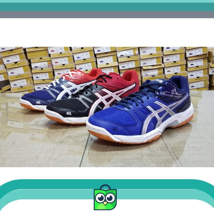 Jual Sepatu Asics Gel Rocket Original Badminton Volly Indoor Sport ... eb64a5ba3f