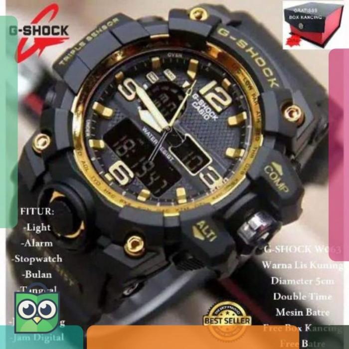 big sale 93856 9bae3 Jual JAM TANGAN PRIA G_SHOCK CASIO MODEL SPORT BEST SELLER - DKI Jakarta -  Suyuko Land.ID | Tokopedia
