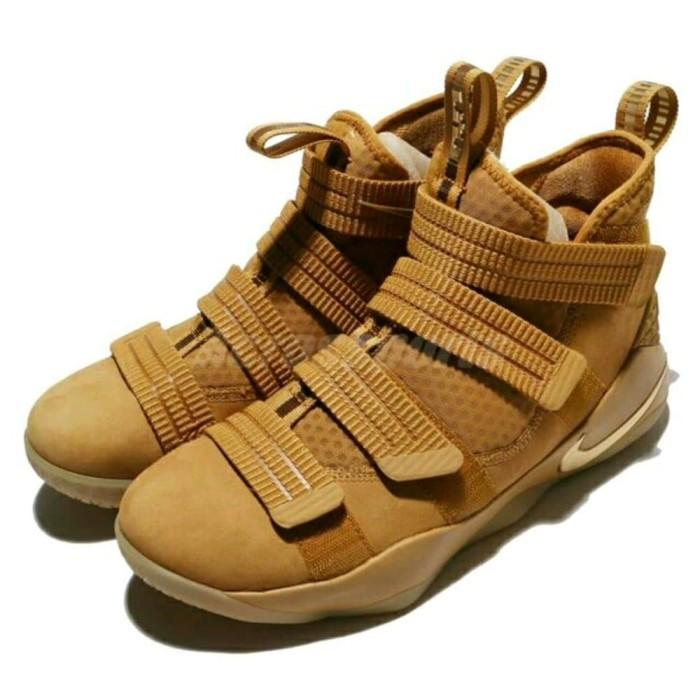 feaaaae177659 Jual Nike Lebron Soldier 11 Brown - jokosusilo-189