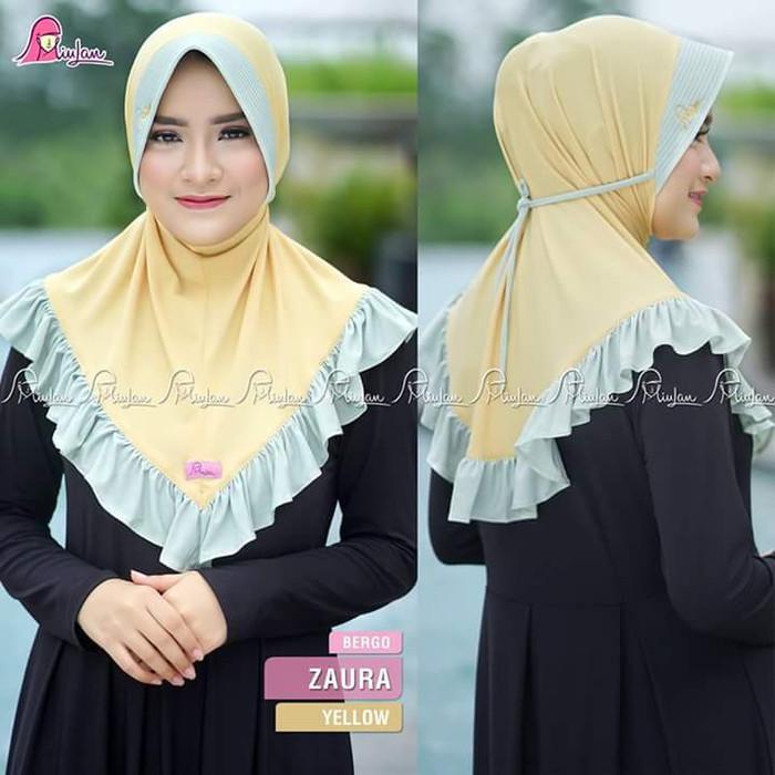 Jual Ori Jilbab Instan Bergo Zaura By Miulan Terlaris Kab Kendal Fatiha Hijab Miulan Tokopedia