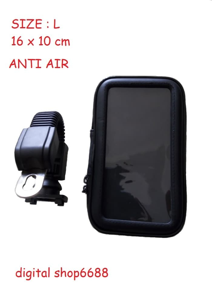 harga Holder braket handphone di spion motor anti air waterproof ukuran l Tokopedia.com