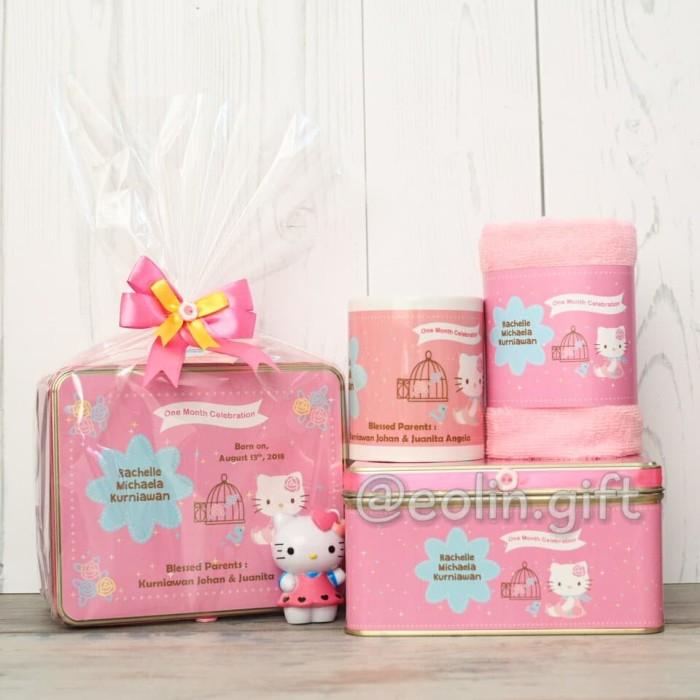 Jual Souvenir Ultah Baby One Month Birthday Souvenir Hampers Manyue Jakarta Barat Eolin Gift Tokopedia