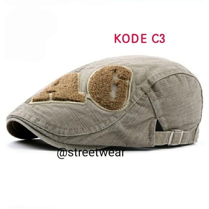 harga Topi pet import topi copet import flatcap import topi pelukis import  Tokopedia 9925ac7ab1