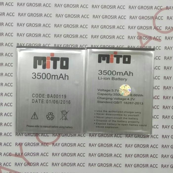 Baterai Double Power Mito BA-00119 BA00119 A550 Fantasy Style