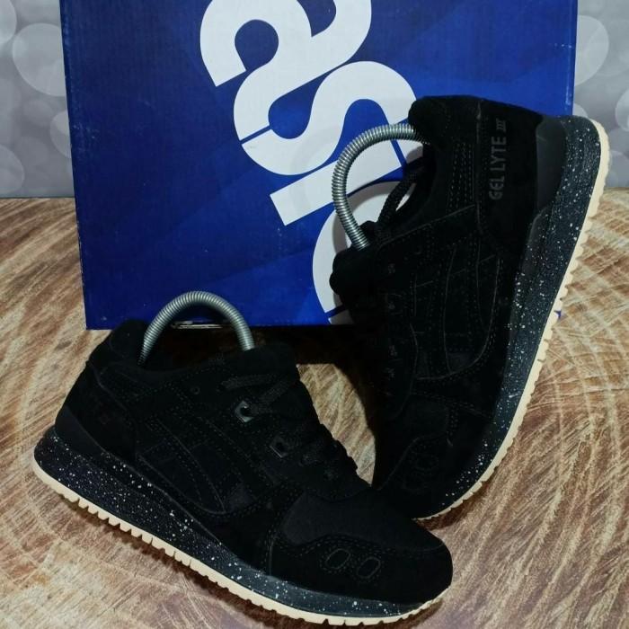 Sepatu ASICS GEL LYTE III REIGNING CHAMP BLACK ORIGINAL PREMIUM ORI 1fdc7cf4dc
