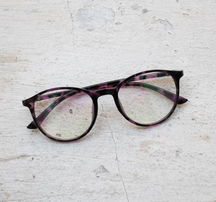 Jual Frame Kacamata Minus Gaya Korea 8224 Bulat Pria Wanita  a6d6becef7