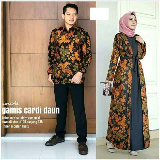 Jual Baju Batik Gamis Cardi Daunset Hem Kemeja Cowok Lengan Panjang Kab Karanganyar Batik Busana Solo Tokopedia