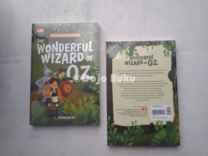 harga The wonderful wizard of oz by l. frank baum Tokopedia.com