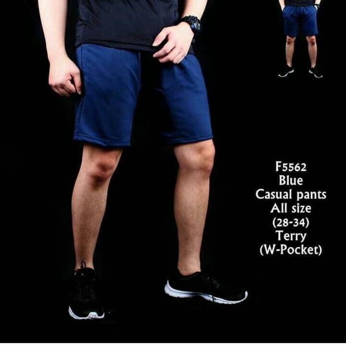 harga Celana pendek pria casual pants polos jogging santai gym Tokopedia.com