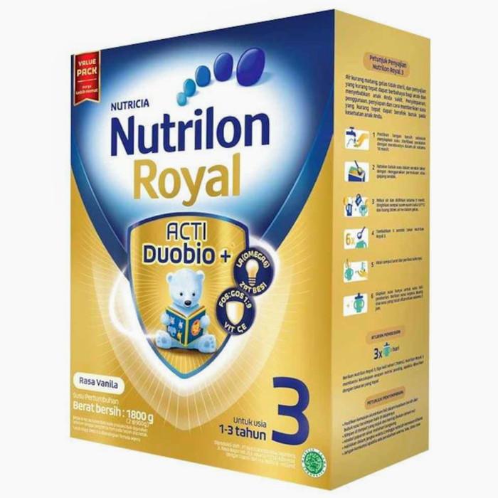 Nutrilon Royal Pronutra 3 Vanilla Susu Formula [1800 g] -