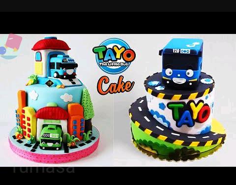 Jual Patung Kue Ulang Tahun Krakter Tayo Kota Bekasi Rumasa Tokopedia