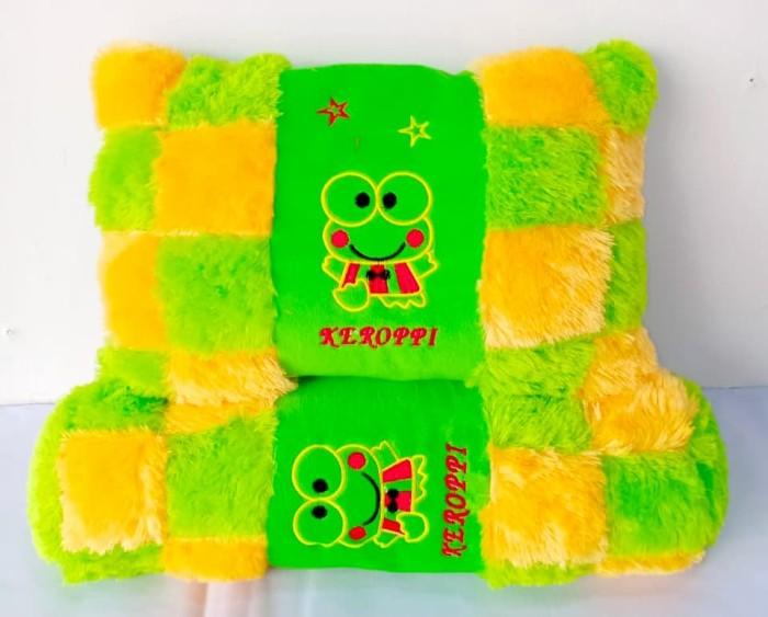 Boneka Bantal Keropi 1 Sets - Boneka Bantal Guling Keropi