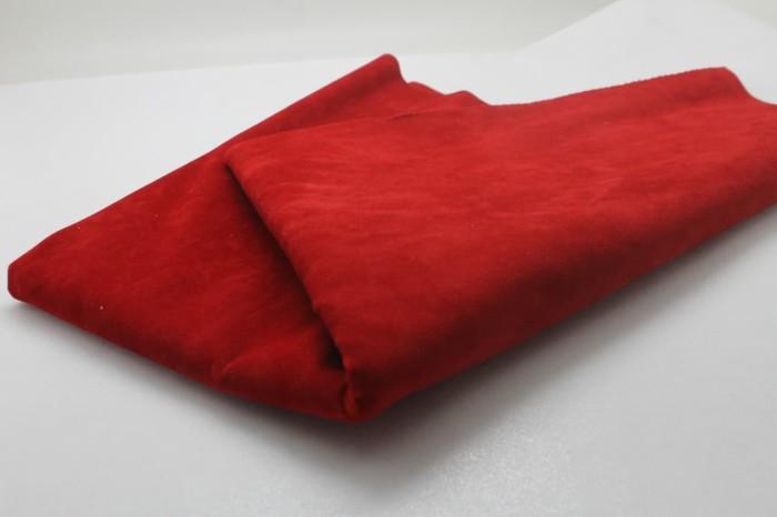 Foto Produk Double Suede Merah dari M&G kain kanvas