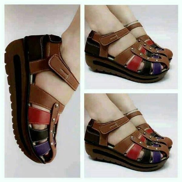 Jual Termurah Sandal Sepatu Wanita Wedges Replika Kickers Murah ... 8d8bc62a48