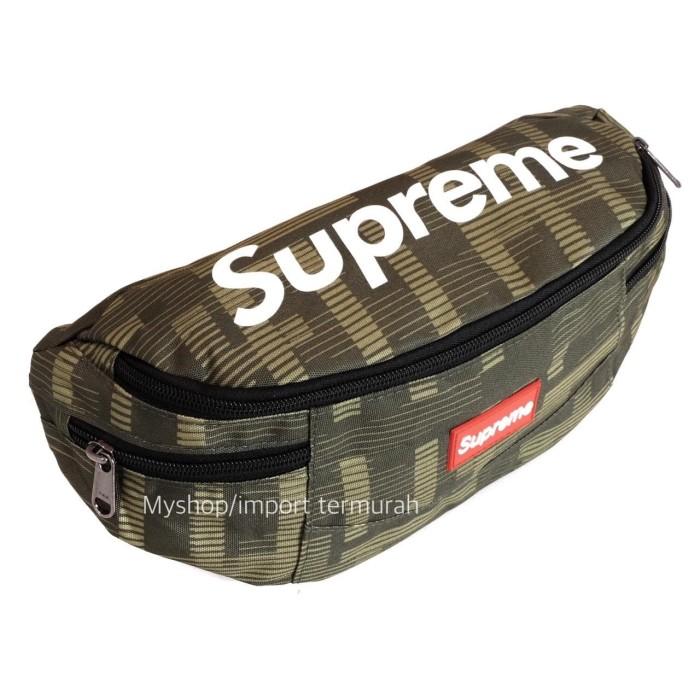 Tas Bodypack Selempang Import Pria / Wanita Spr 01 Green - Hijau