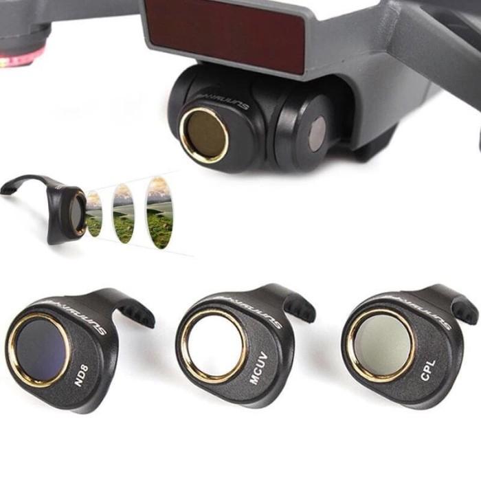 harga 3pcs 1set filter camera lensa dji spark Tokopedia.com