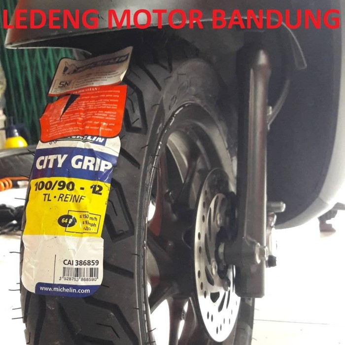 harga Michelin 100/90-12 city grip ban tubeless motor vespa baru new scoopy Tokopedia.com
