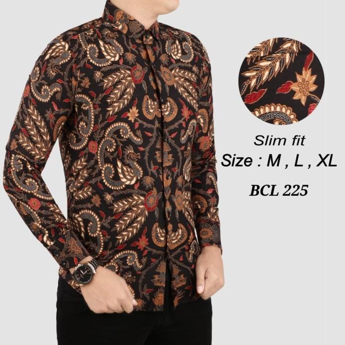 Contoh Potongan Baju Batik Modern: Jual Batik Pria ,kemeja Slimfit ,baju Batik Modern Lengan
