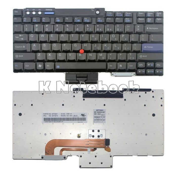harga Keyboard ibm lenovo thinkpad r60 r60e z60t z61 z61m r400 r500 Tokopedia.com