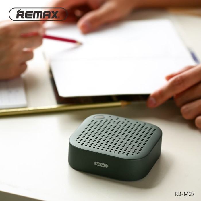 harga Original remax rb-m27 metal portable mini wireless speaker for mobile Tokopedia.com