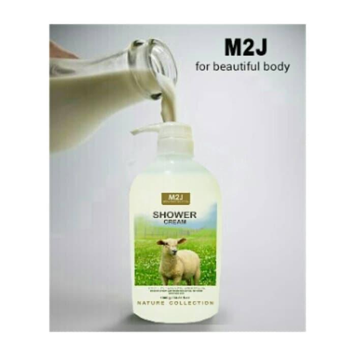 Sabun Cair Susu Domba M2J Shower Cream 500ml N313