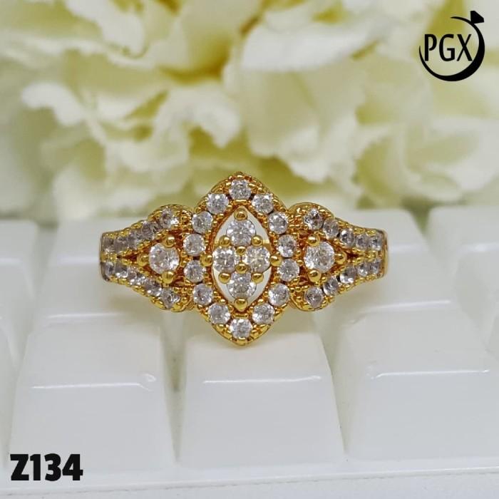 Z134 Cincin Xuping Yaxiya - Perhiasan Lapis Emas 18K