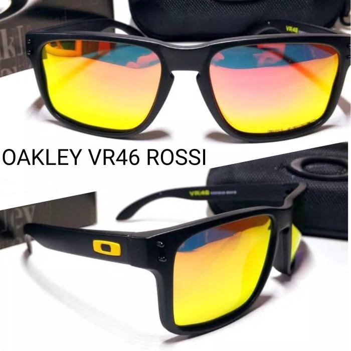 Kacamata Oakley Holbrook Vr46 Rossi Lensa Polarized Super Premium - Gambar  Ke Dua - Nita 4ffa11b682