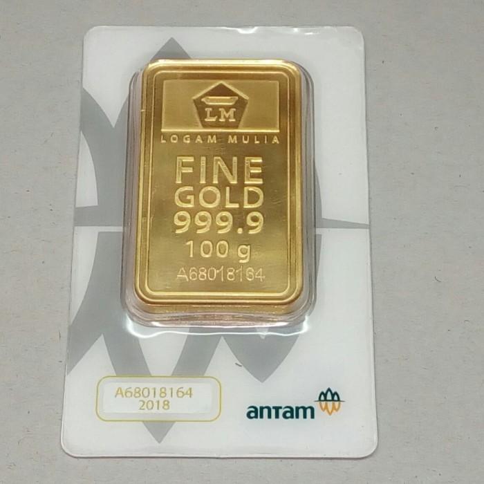 Jual Emas Batangan Antam Lm Logam Mulia Antam Gold Bar Finegold