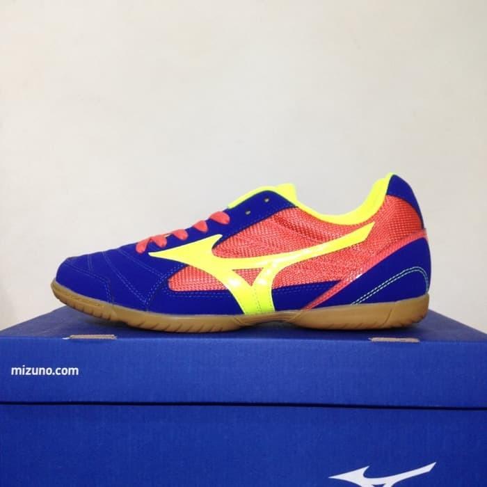 Promo Sepatu Futsal Mizuno Sala Club 2 IN Surf The Web Q1GA185145 Ori b3e1e40762