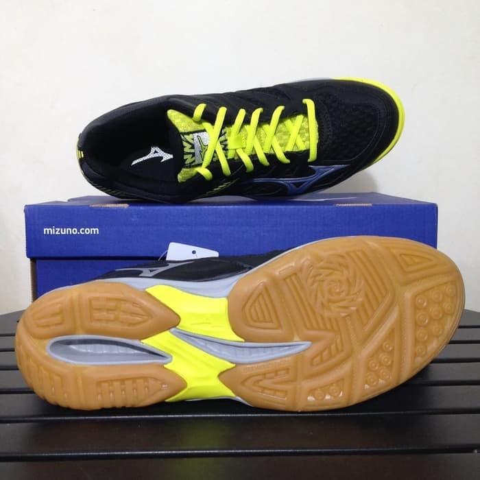 Promo Sepatu Volley Mizuno Thunder Blade Hitam Silver V1GA177005 Ori e0074ffaa9