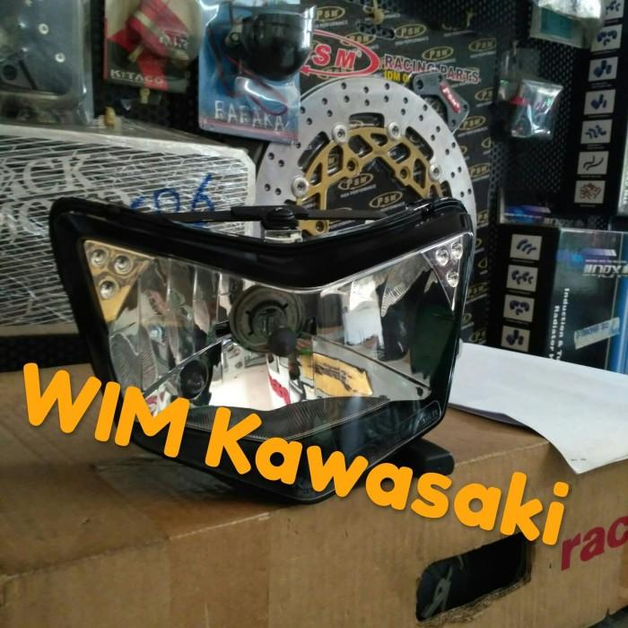 Headlamp reflektor lampu depan ninja rr new 150 Original Kawasaki
