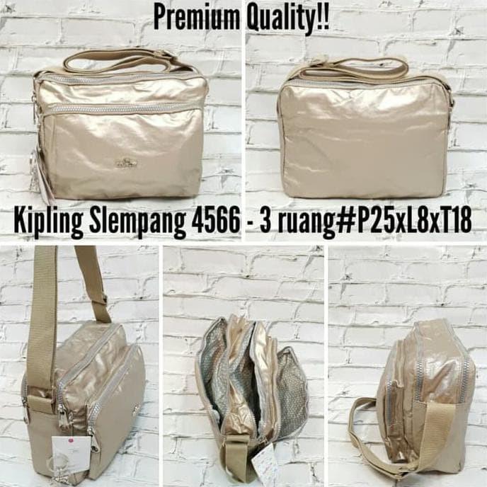 Jual Terbaru N Trendy Tas Selempang Kipling Metalik Premium Import 3 ... 73b9bf206f