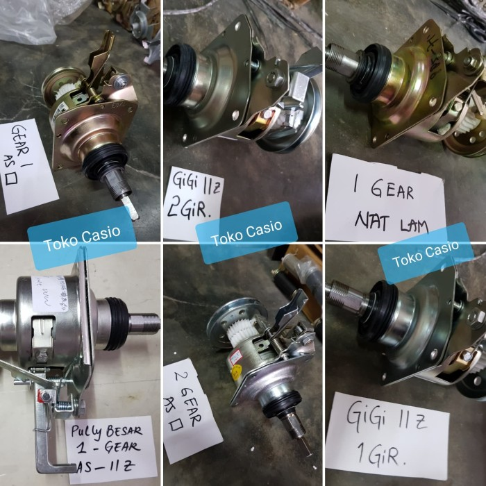 Gearbox gear box Automatic Mesin cuci Turbo 1 atau 2 gear clutch LG